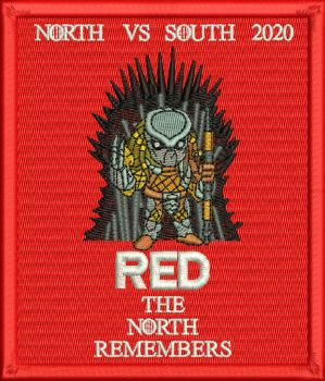 Red North Remembers 2020 Embroidered Badge